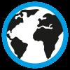 azur anglais globe